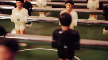 вратарь : modern board game - kicker or table football.