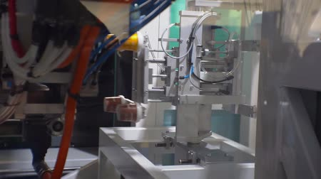 plastic cups : automated line produces plastic cups
