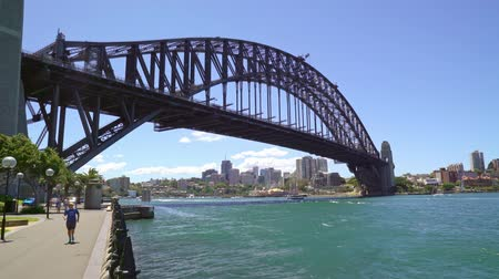 ferry terminal : Sydney harbor bridge