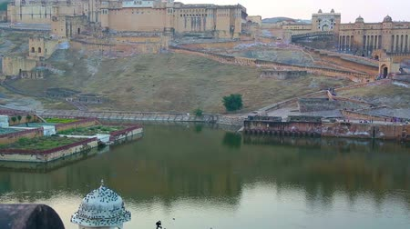 amer fort : Amber fort Stock Footage