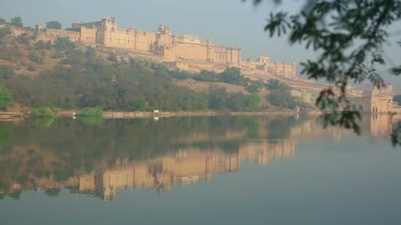 amer fort : Reflection of Fort Amber