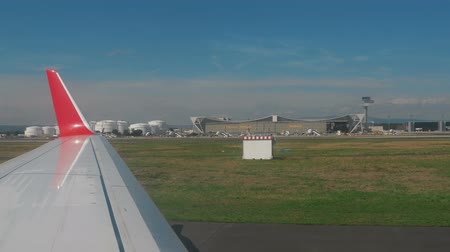 west wing : A view of the apron Frankfurt Airport
