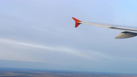 horizont : Aerial view from departing airplane