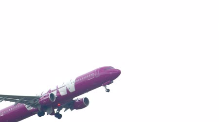 jet out : Airbus 321 WOW Air climb out