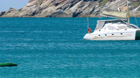 catamarano : Luxury Yacht near Nai Harn Beach, Phuket
