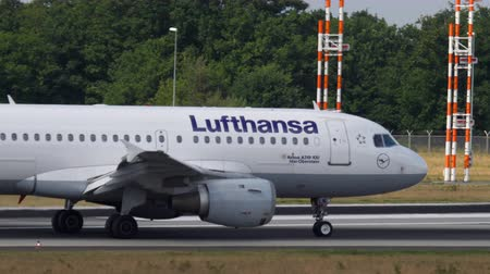 francfort : Lufthansa Airbus A319 roulage