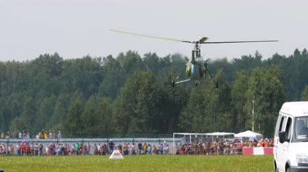 mi : Vintage Helicopter Mi-1 performance aerobatics