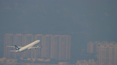 aeroespaço : Aerial view Chek Lap Kok International Airport, Hong Kong