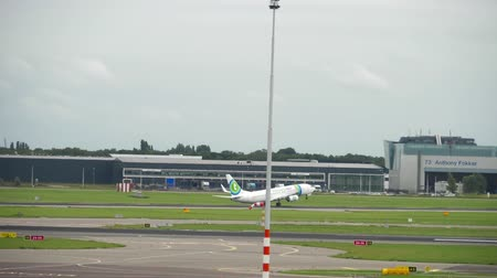 take off : Transavia Boeing 737 departure