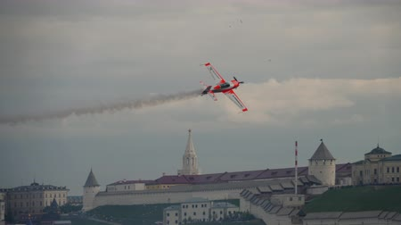 aerobatic : World champion performs aerobatics