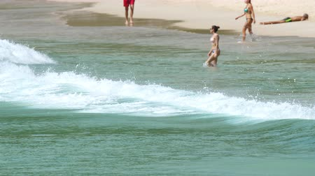 Nai Harn beach, south of Phuket Island Wideo