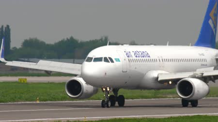 Air Astana Airbus A320 taxiing