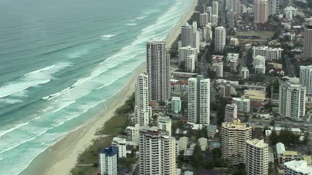 hilton : SURFERS PARADISE, AUSTRALIA - OCTOBER 5 2011: Surfers Paradise on the Gold Coast is Australias premier tourist destination. It was established by Jim Cavill in 1920 when he acquired 25 acres of land on the site.