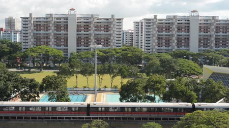 singapur : Editorial Submission - Singapur Nachbarschaft mit MRT