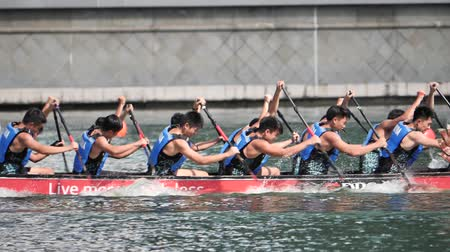 レガッタ : Slow motion DBS River Regatta 2019