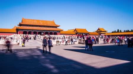 császári : Moving Time Lapse of Forbidden City in Beijing, China