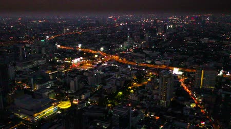 государство : Different view of bangkok cityscape at night, Bangkok, Thailand