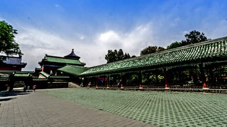 imparator : Walking around the Qinian Hall in the Temple of Heaven, Beijing, China.