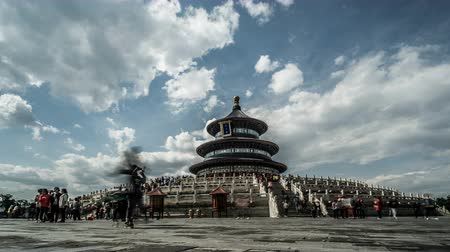 imperador : Walking in the Heaven of Temple park of Beijing, China.