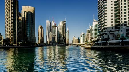 cayan tower : Walking along the Dubai Marina(Cayan Tower), UAE