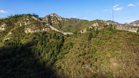 bariéra : The fabulous scene of the Juyongguan Great Wall view from the sky