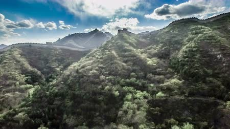 dinastia : The fabulous scene of the Juyongguan Great Wall view from the sky