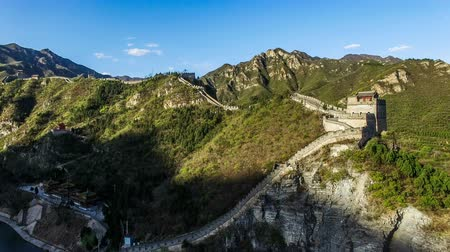 династия : Aerial view of the Simatai Great Wall, Beijing, China
