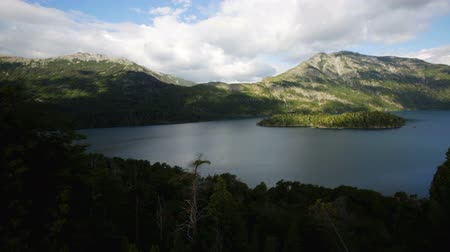 černoch : View on Lago Mascardi and nearby area in Rio Negro province in Argentina