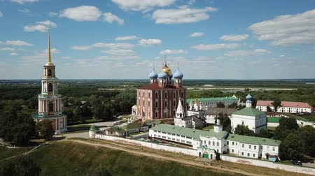 ortodoxia : View of the Kremlin and Cathedral in Ryazan at summer day, Russia