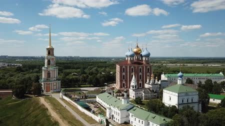epiphany : View of the architectural design of the Ryazan Kremlin with churches and cathedrals