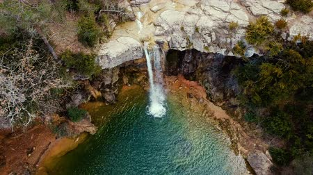 torrente : Waterfall in Catalonia surrounded by beautiful forests and valleys