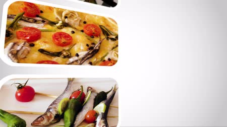 puhatestű : Looping video of seafood dishes