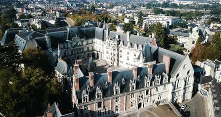 архитектурный : Royal Chateau de Blois on a sunny day, France