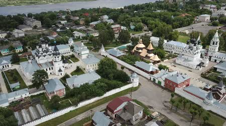 annunciation : Murom on river with two main streets, Russia