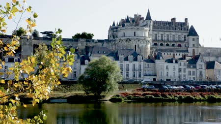 histórico : Royal Chateau in Amboise - castle in Loire valley, France Vídeos