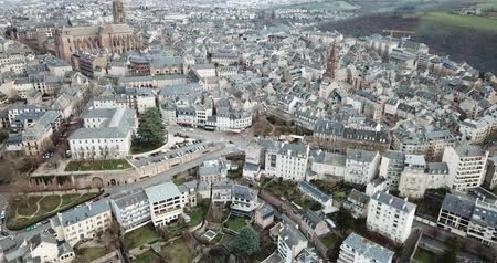 architectural heritage : View from Notre-Dame, France