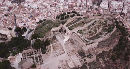 fortresses : Sagunto in summer. Valencian community