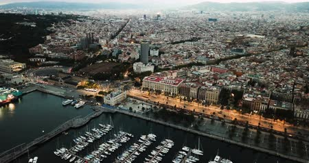 marine park : Sailing of the city of Barcelona