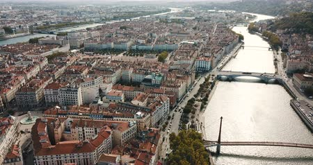 reddish : Rhone and Saone rivers