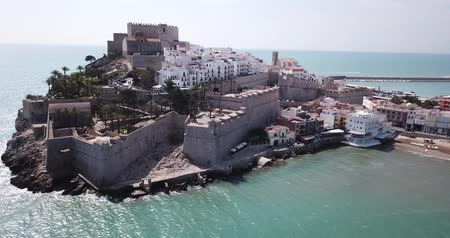 fortificado : Picturesque coastline of the city of Peniscola