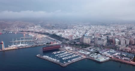 Андалусия : ALMERIA, SPAIN - APRIL 18, 2019: City of Almeria, Spain