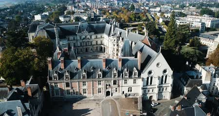 renaissance : Royal Chateau de Blois on a sunny day, France