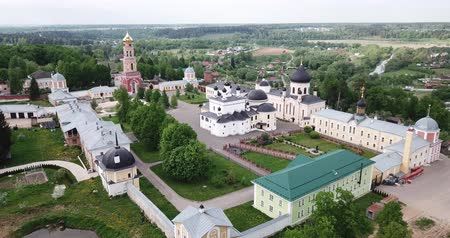 davide : Scenic Aerial View Of David Hermitage - Orthodox male monastery in Novy Byt