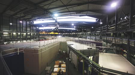 on site research : CERDANYOLA DEL VALLES, SPAIN - JUNE 29, 2019: Image of ALBA synchrotron building interior