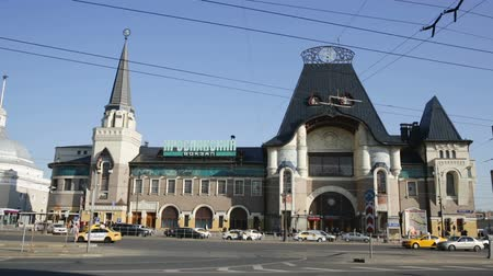 arrabaldes : Yaroslavsky railway station of Moscow, Russia