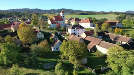 homeopático : Traditional village Cakov in autumn day. Czech Republic