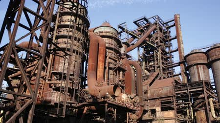 ferronnerie : Old abandoned metallurgical plant in Vitkovice (Ostrava). Czech Republic