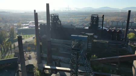 ironworks : Old abandoned metallurgical plant in Vitkovice (Ostrava). Czech Republic