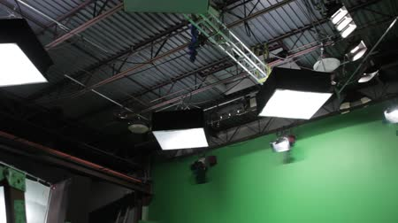 aydınlatma : lighting setup on a professional film set