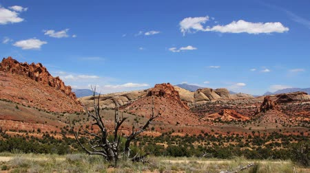 deserto : A beautiful desert time lapse in Capitol Reef, Southern Utah. Vídeos